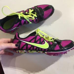 Nike sprinting shoes